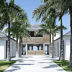 Click for more information about BEACH HOUSE ST BARTHS EXTERIOR